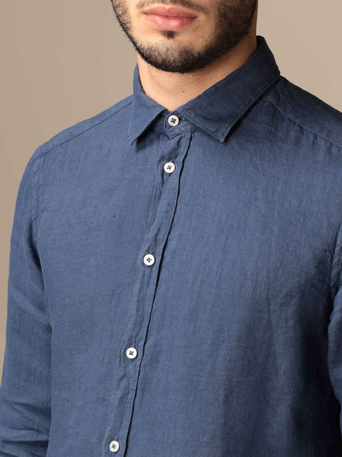 Chemise An American Tradition: Chemise homme Bd Baggies bleu marine 3