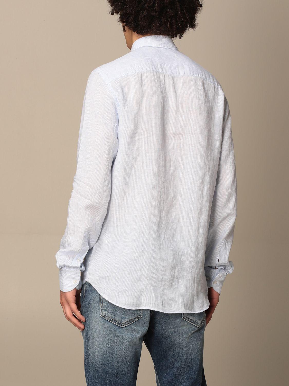 Shirt An American Tradition: Brooklyn BD Baggies linen shirt sky blue 2