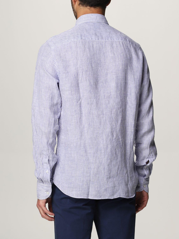 Shirt An American Tradition: Brooklyn BD Baggies linen shirt navy 2