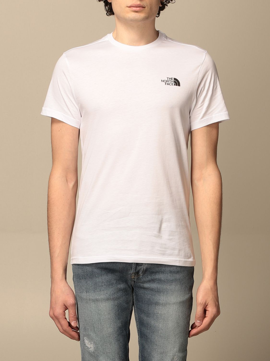 T-shirt The North Face: T-shirt men The North Face white 1