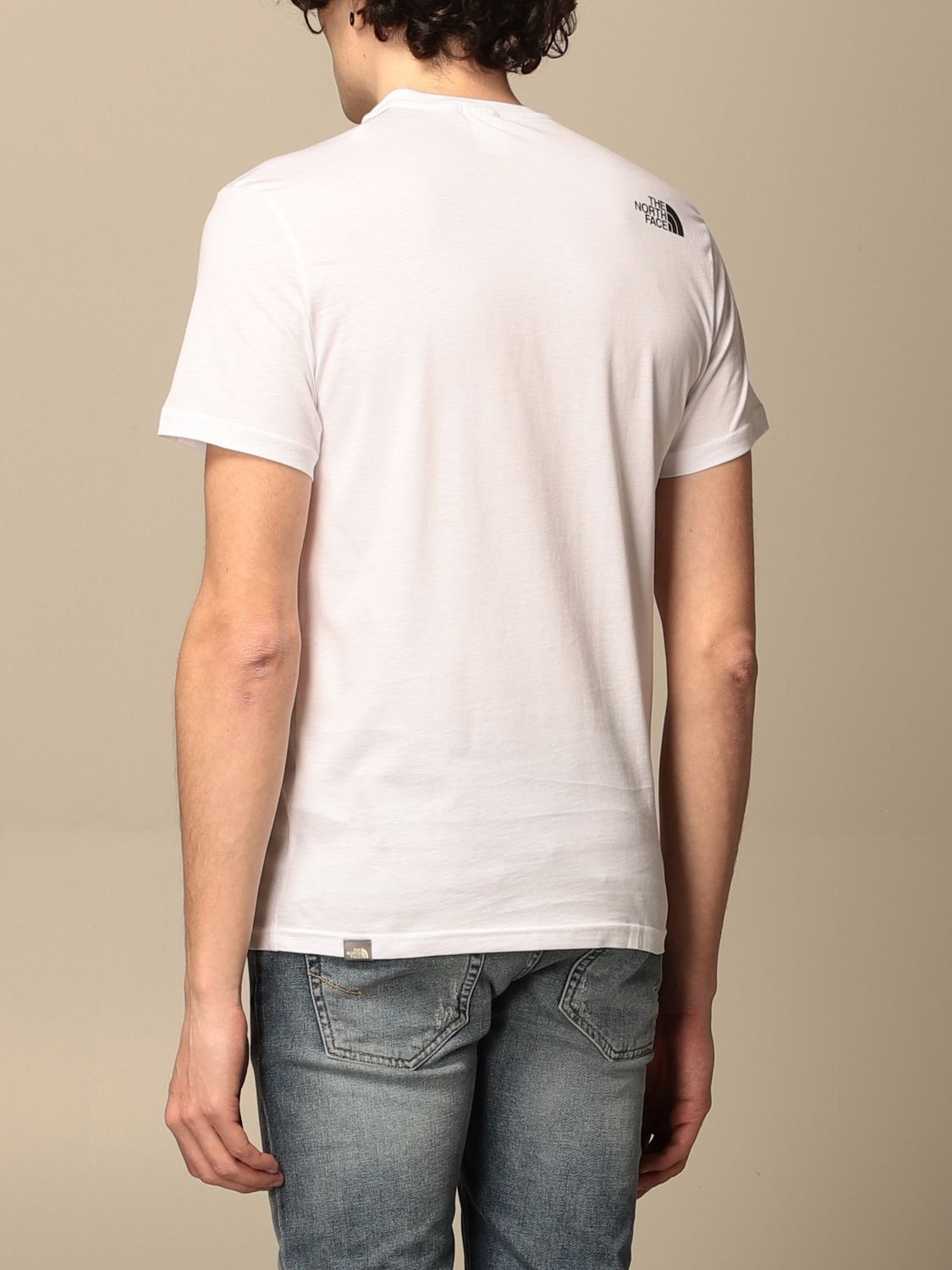 T-shirt The North Face: T-shirt men The North Face white 2