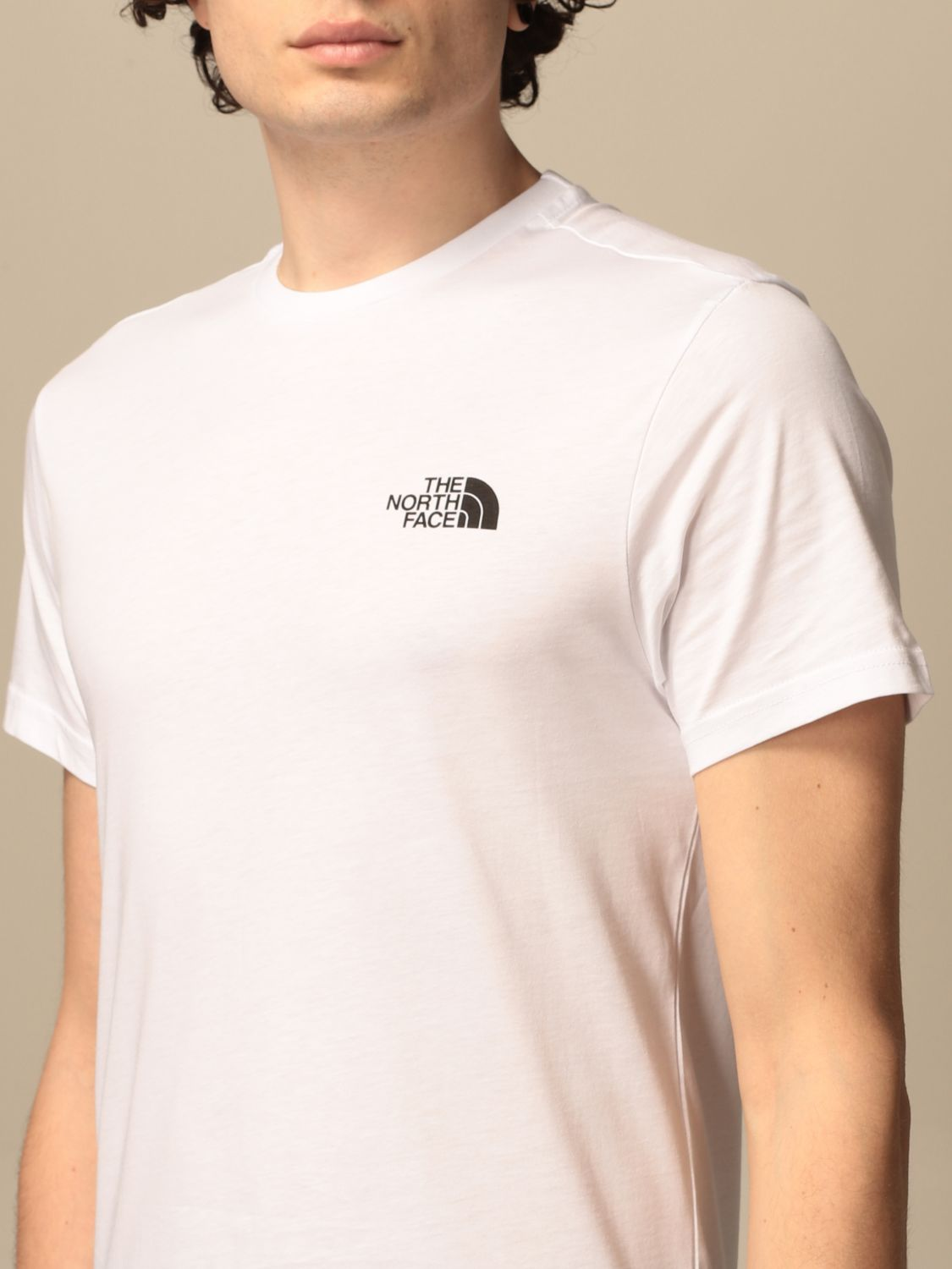 T-shirt The North Face: T-shirt men The North Face white 3