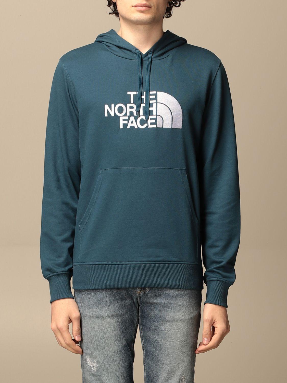 Sweatshirt The North Face: Sweatshirt homme The North Face bleu 1