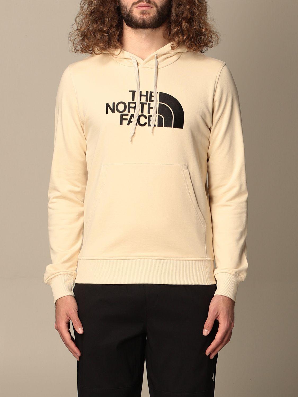Sweatshirt The North Face: Sweatshirt men The North Face yellow cream 1