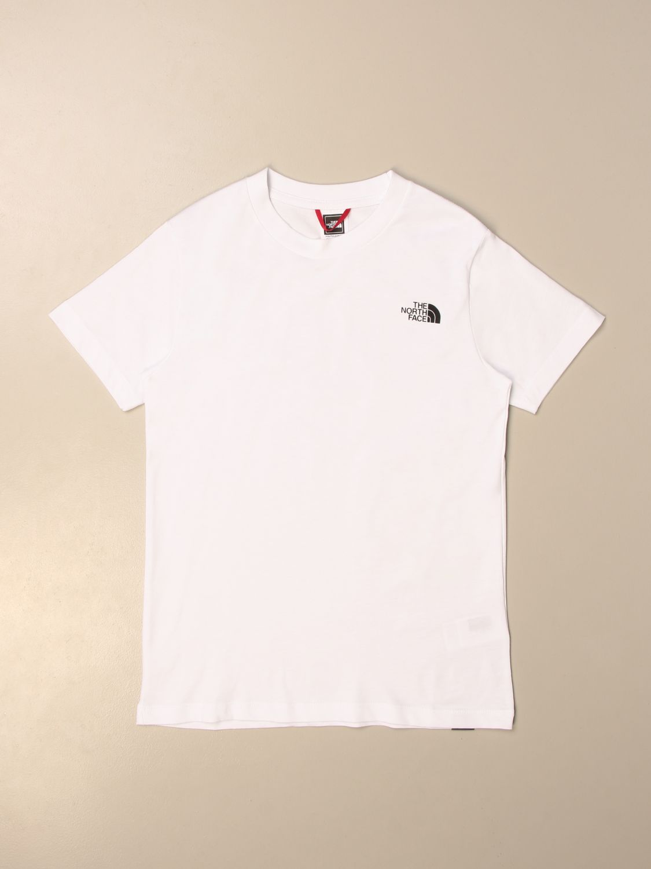 Camiseta The North Face: Camiseta niños The North Face blanco 1
