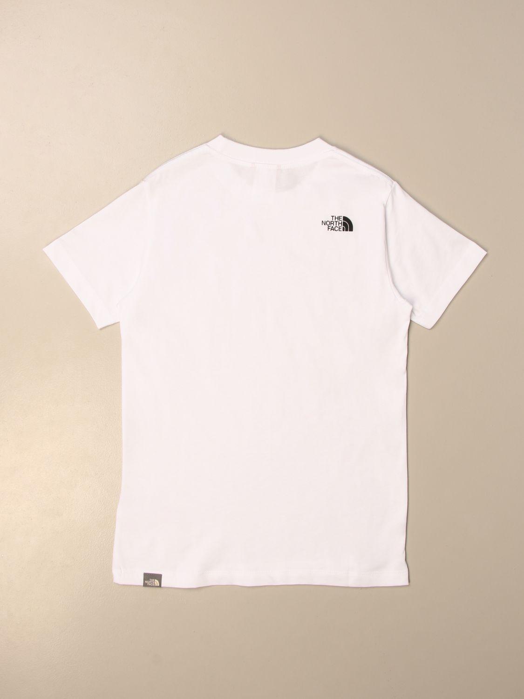 Camiseta The North Face: Camiseta niños The North Face blanco 2