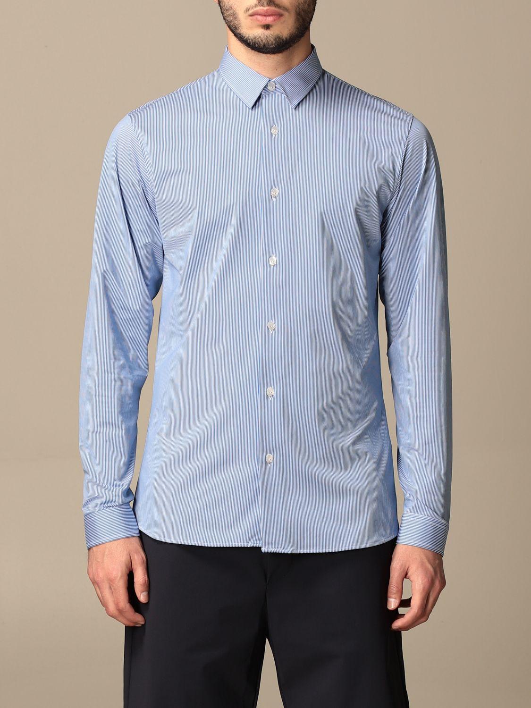 Рубашка Hydrogen: Рубашка Мужское Hydrogen синий 1