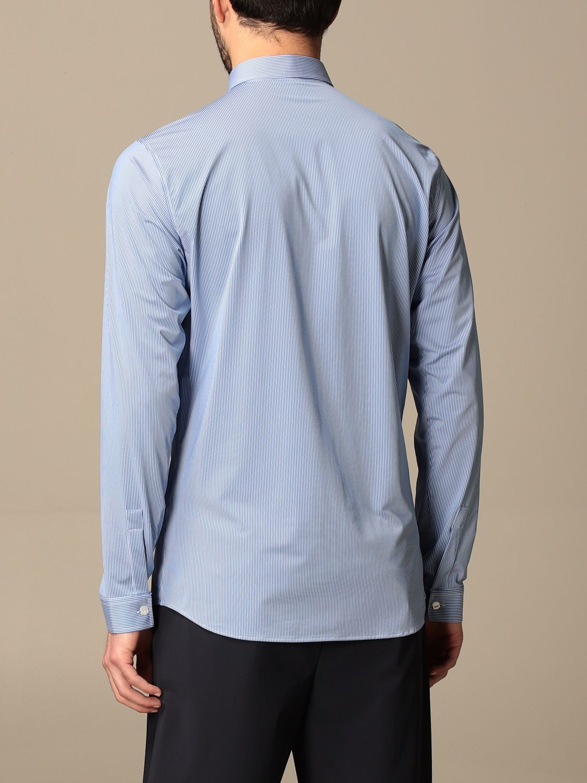 Рубашка Hydrogen: Рубашка Мужское Hydrogen синий 3