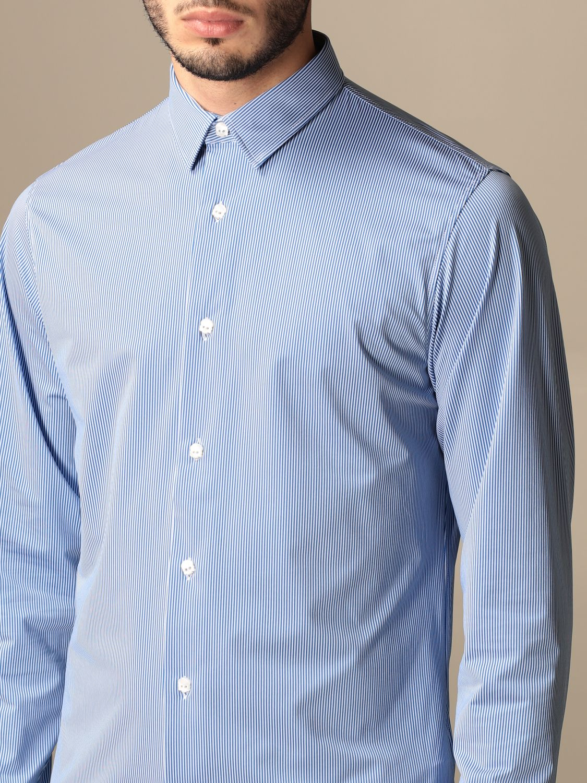 Рубашка Hydrogen: Рубашка Мужское Hydrogen синий 4