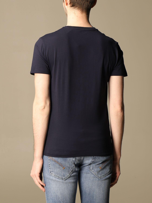T-shirt Polo Ralph Lauren: T-shirt Polo Ralph Lauren in cotone con logo blue 2