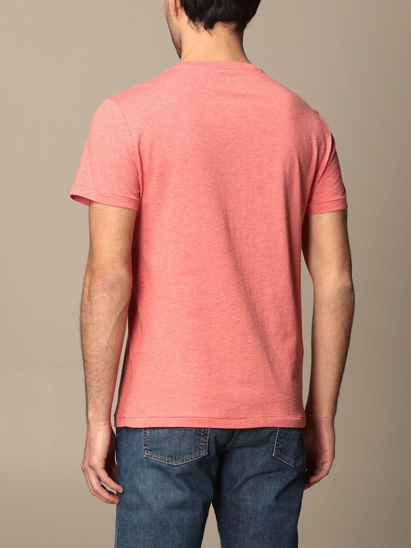 T-shirt Polo Ralph Lauren: T-shirt Polo Ralph Lauren in cotone con logo arancione 2