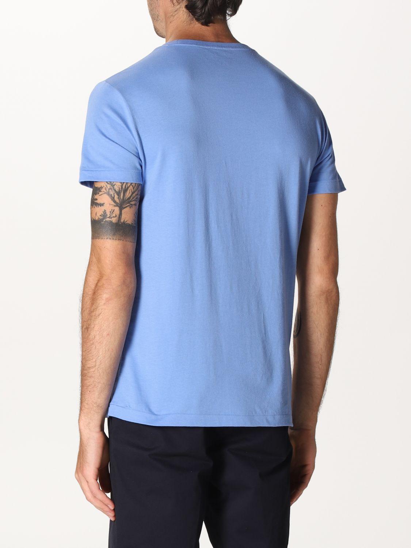 T-shirt Polo Ralph Lauren: Polo Ralph Lauren cotton t-shirt with logo sky blue 2