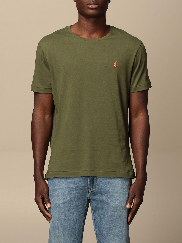 Camiseta Polo Ralph Lauren: Camiseta hombre Polo Ralph Lauren oliva 1
