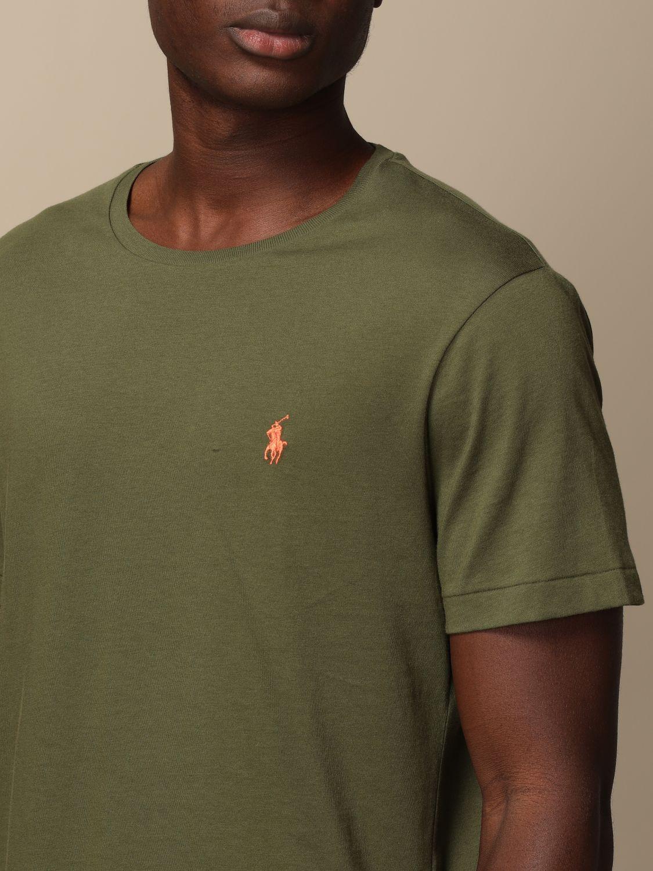 Camiseta Polo Ralph Lauren: Camiseta hombre Polo Ralph Lauren oliva 3
