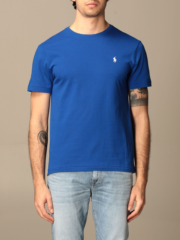 T-shirt Polo Ralph Lauren: T-shirt men Polo Ralph Lauren blue 1 1