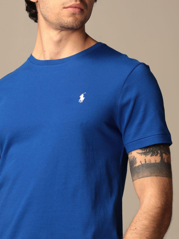 T-shirt Polo Ralph Lauren: T-shirt men Polo Ralph Lauren blue 1 3