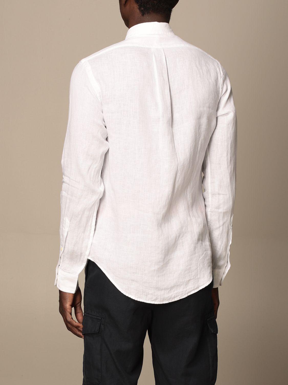 Shirt Polo Ralph Lauren: Polo Ralph Lauren linen shirt with button down collar white 2