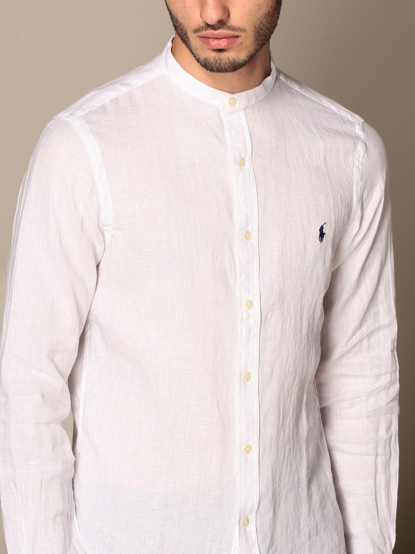 Chemise Polo Ralph Lauren: Chemise homme Polo Ralph Lauren blanc 4