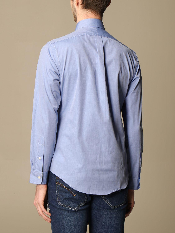 Shirt Polo Ralph Lauren: Polo Ralph Lauren shirt in cotton poplin blue 2