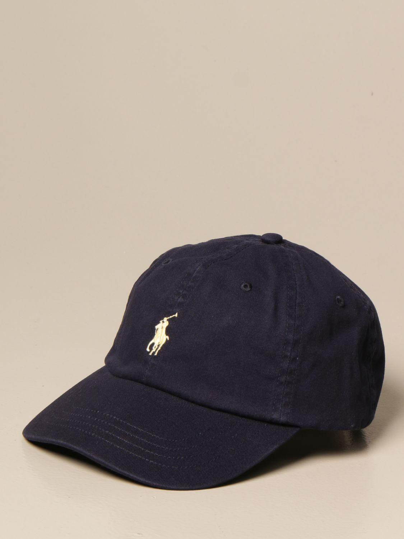 Chapeau Polo Ralph Lauren: Chapeau homme Polo Ralph Lauren bleu marine 1