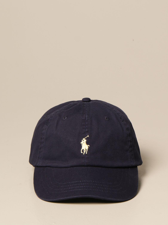 Chapeau Polo Ralph Lauren: Chapeau homme Polo Ralph Lauren bleu marine 2