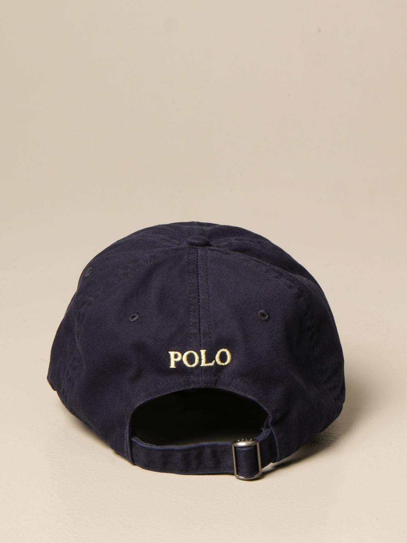 Chapeau Polo Ralph Lauren: Chapeau homme Polo Ralph Lauren bleu marine 3