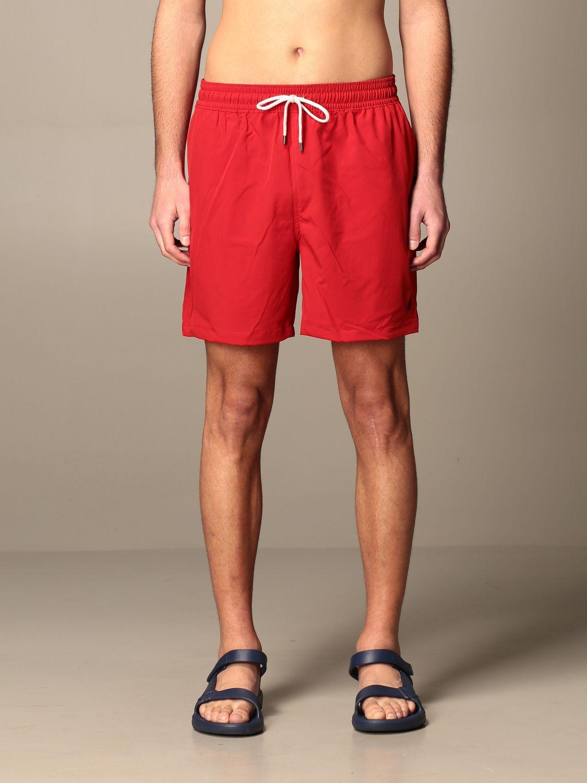 Swimsuit Polo Ralph Lauren: Swimsuit men Polo Ralph Lauren red 1