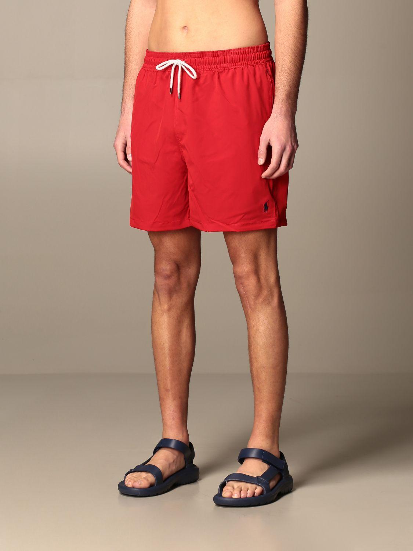 Swimsuit Polo Ralph Lauren: Swimsuit men Polo Ralph Lauren red 3