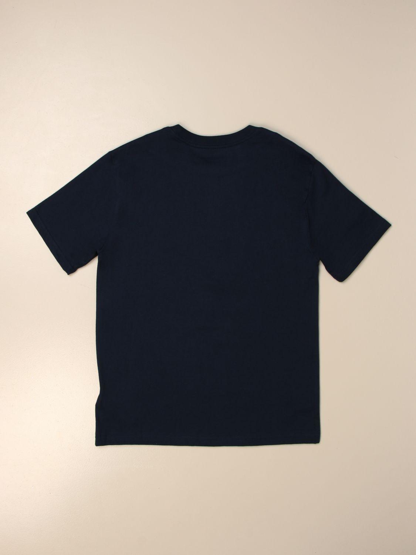 T-shirt Polo Ralph Lauren Boy: T-shirt basic Polo Ralph Lauren Boy in cotone blue navy 2