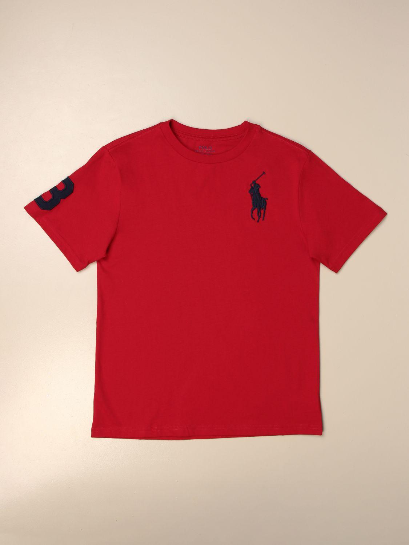 Camiseta Polo Ralph Lauren Boy: Camiseta niños Polo Ralph Lauren Boy rojo 1