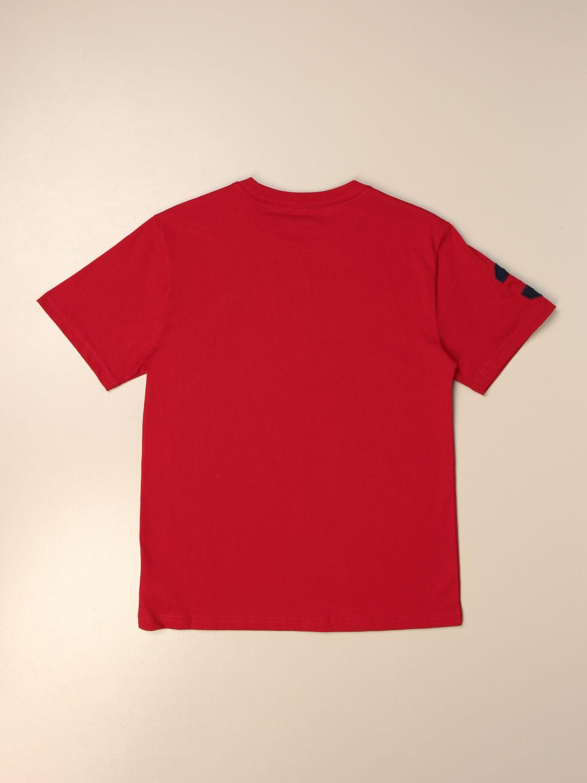 Camiseta Polo Ralph Lauren Boy: Camiseta niños Polo Ralph Lauren Boy rojo 2