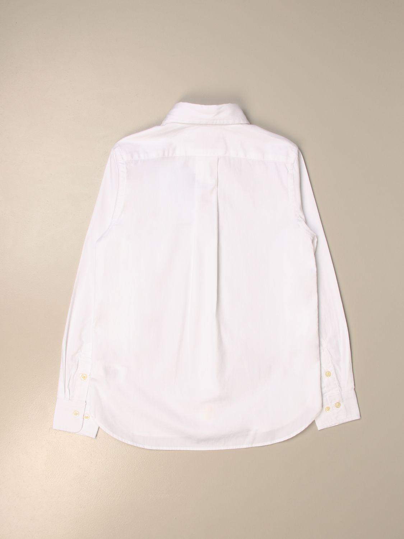 Рубашка Polo Ralph Lauren Boy: Рубашка Детское Polo Ralph Lauren Boy белый 2