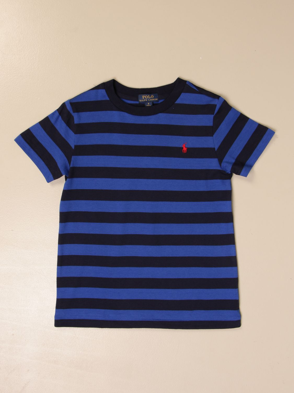 Футболка Polo Ralph Lauren Kid: Футболка Детское Polo Ralph Lauren Kid королевский синий 1