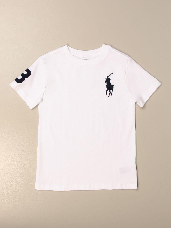 Camiseta Polo Ralph Lauren Toddler: Camiseta niños Polo Ralph Lauren Toddler blanco 1