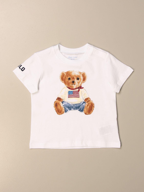 Camiseta Polo Ralph Lauren Infant: Camiseta niños Polo Ralph Lauren Infant blanco 1