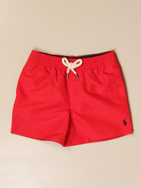 Costume Polo Ralph Lauren Infant: Costume a boxer Polo Ralph Lauren Infant rosso 1