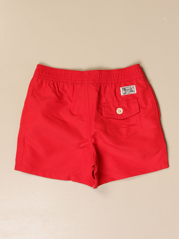 Costume Polo Ralph Lauren Infant: Costume a boxer Polo Ralph Lauren Infant rosso 2