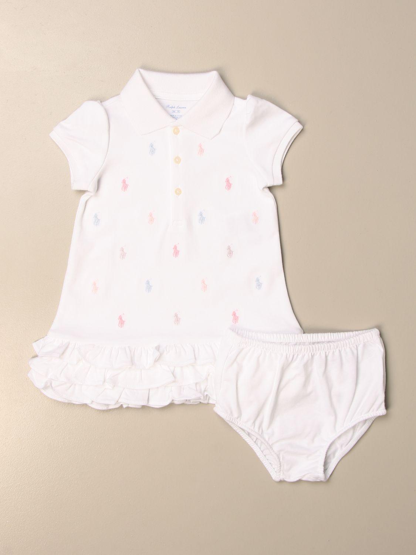 Mono Polo Ralph Lauren Infant: Pelele niños Polo Ralph Lauren Infant blanco 1