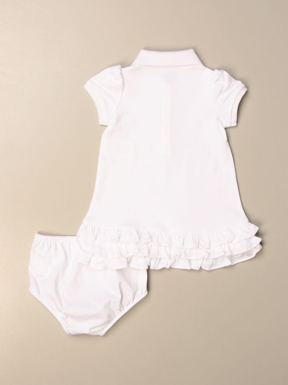 Mono Polo Ralph Lauren Infant: Pelele niños Polo Ralph Lauren Infant blanco 2