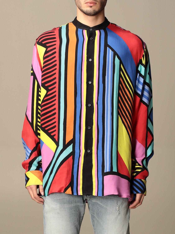Shirt Balmain: Guru Balmain shirt with abstract pattern multicolor 1
