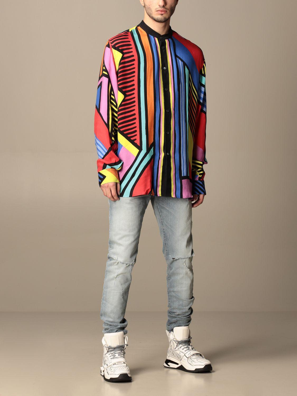 Shirt Balmain: Guru Balmain shirt with abstract pattern multicolor 2