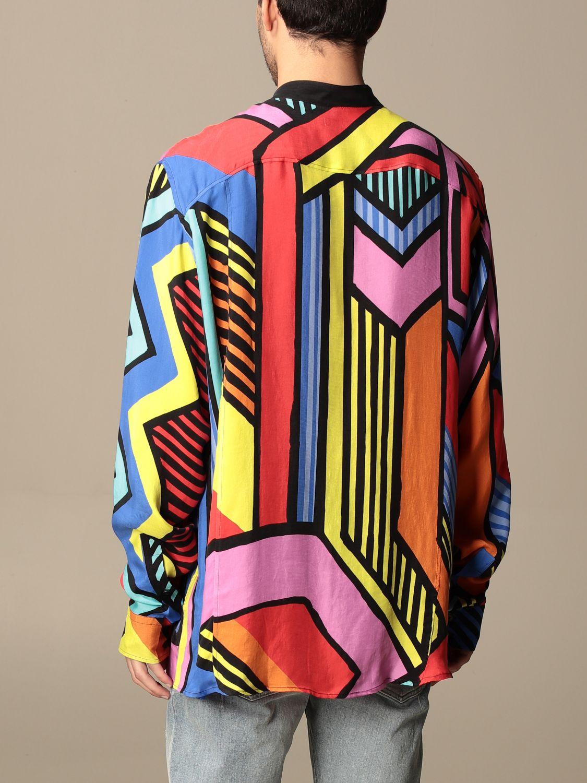 Shirt Balmain: Guru Balmain shirt with abstract pattern multicolor 3