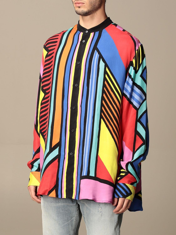 Shirt Balmain: Guru Balmain shirt with abstract pattern multicolor 4