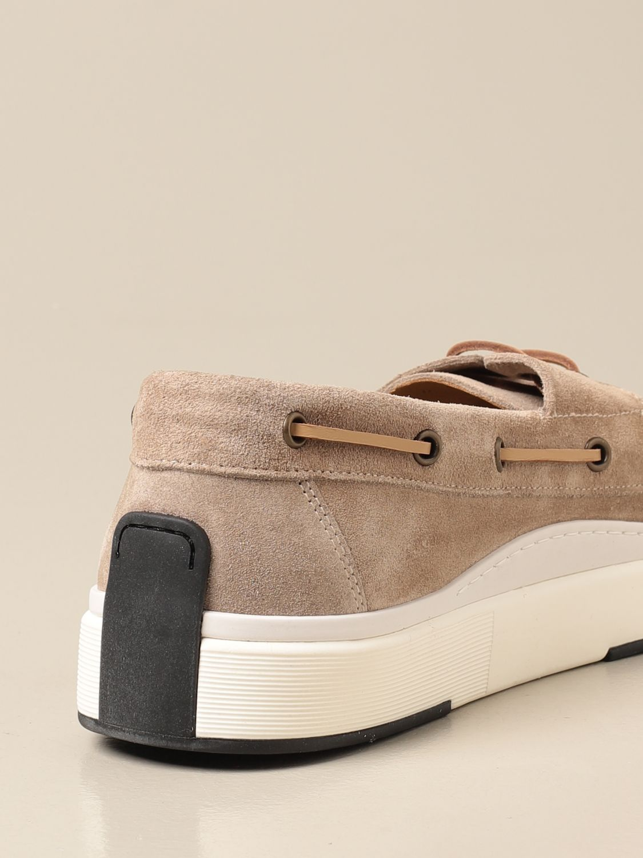 Mocassini Brimarts: Sneakers Brimarts in pelle scamosciata beige 3