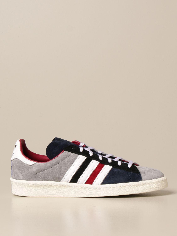 Trainers Adidas Originals: Campus 80s Adidas Originals sneakers in suede white 1
