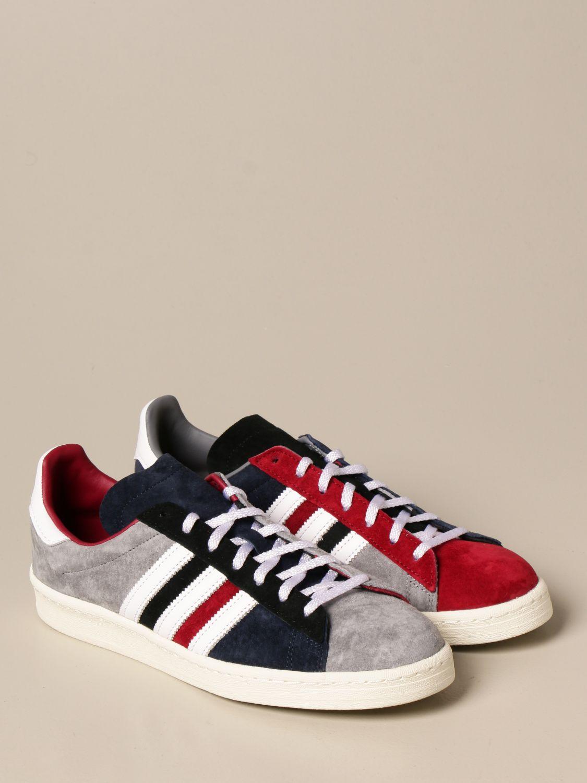 Trainers Adidas Originals: Campus 80s Adidas Originals sneakers in suede white 2