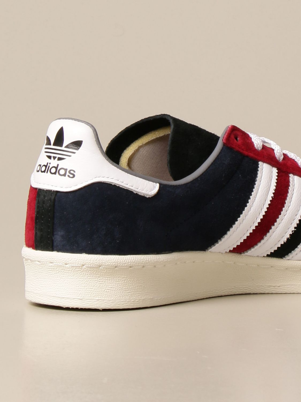 Trainers Adidas Originals: Campus 80s Adidas Originals sneakers in suede white 3