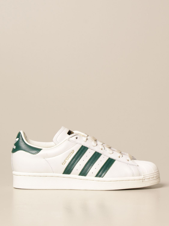 Trainers Adidas Originals: Adidas Originals Superstar sneakers in leather white 1