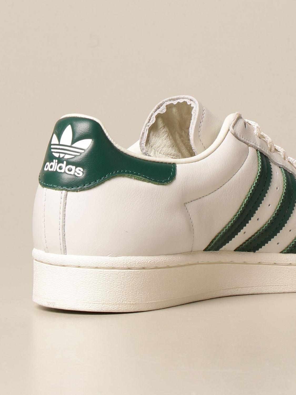 Trainers Adidas Originals: Adidas Originals Superstar sneakers in leather white 3