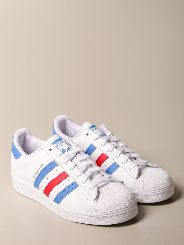 Trainers Adidas Originals: Adidas Originals Superstar sneakers in leather white 2